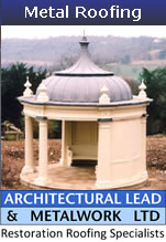 www.architecturallead.com lead roof restoration